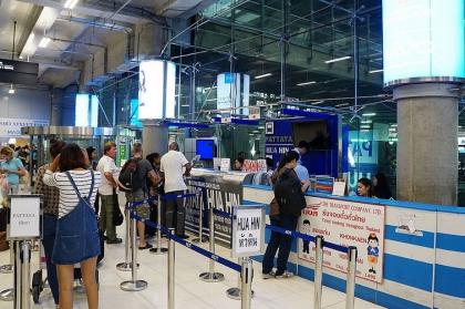 曼谷素万那普机场往返华欣的大巴