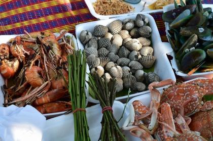 芭提雅码头海鲜市场