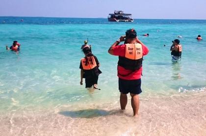 沙美岛一日游