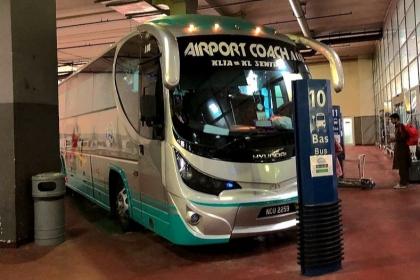 坐吉隆坡机场大巴往返市区