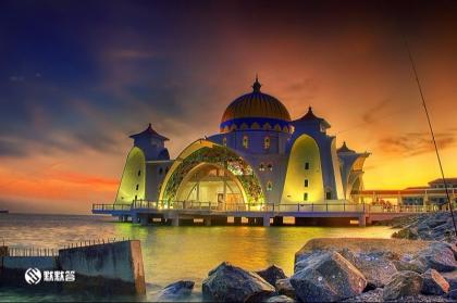 马六甲水上清真寺