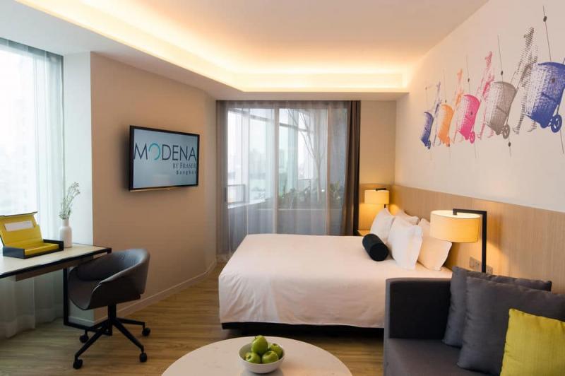 曼谷名致服务公寓,曼谷名致服务公寓,Modena by Fraser Bangkok