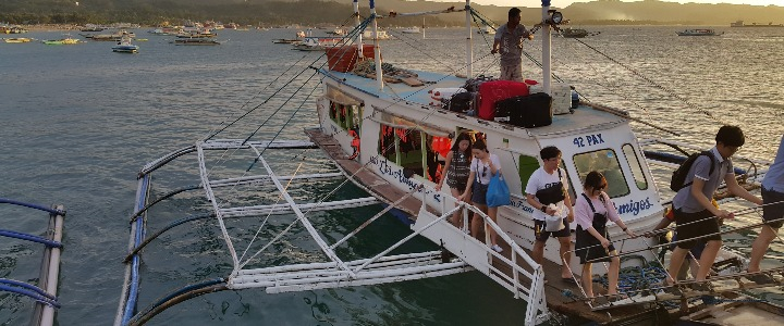 从卡利波机场Kalibo /卡替克兰机场(Caticlan)到长滩岛的车船流程详细攻略!