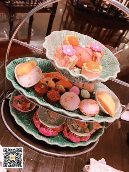 君悦下午茶,四面佛下午茶,Erawan Tea Room