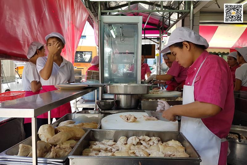 红大哥水门海南鸡饭,红大哥水门海南鸡饭,Go-Ang Kaomunkai Pratunam