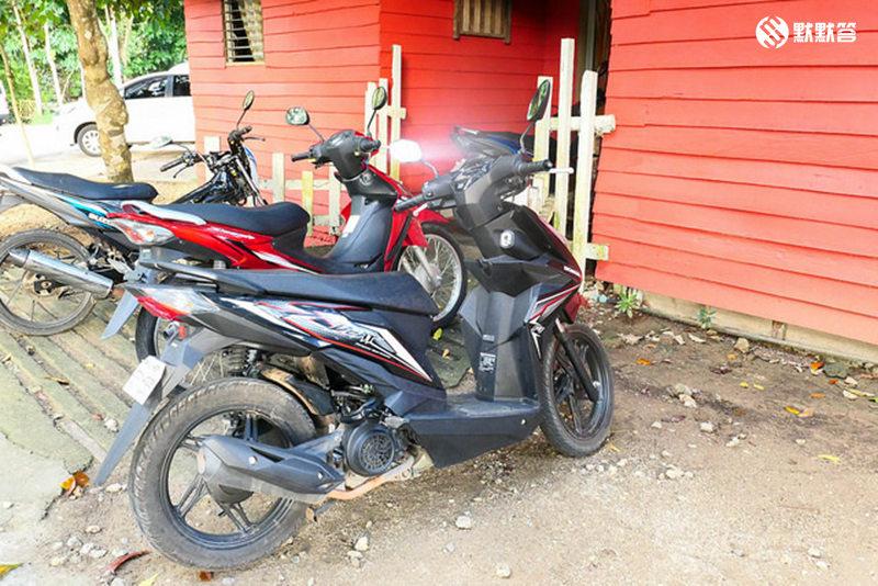 薄荷岛租摩托,薄荷岛租摩托,Rent motobike at Bohol