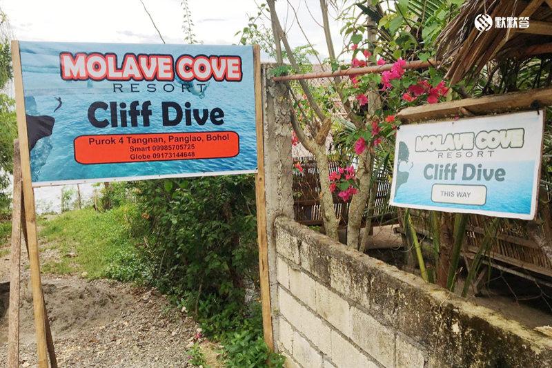 薄荷岛悬崖跳水及沙丁鱼风暴,薄荷岛悬崖跳水及沙丁鱼风暴,Botel Cliff Diving and Napaling