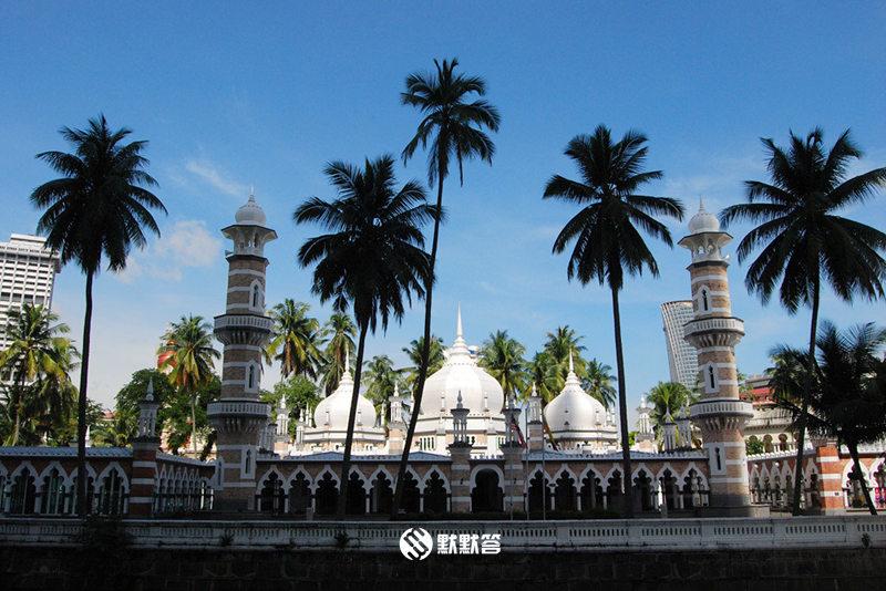 占美清真寺,占美清真寺,Jamek Mosque / Masjid Jamek
