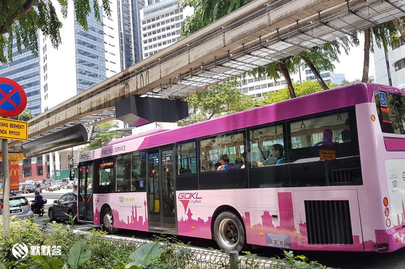 吉隆坡免费观光巴士,GO KL吉隆坡免费观光巴士,GO KL Free Bus
