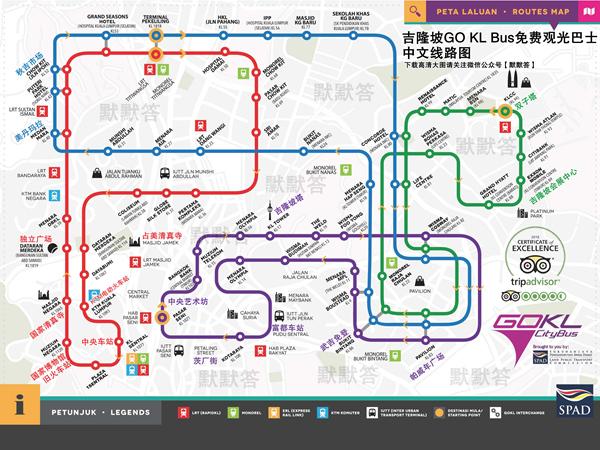 吉隆坡中文地图,吉隆坡中文地图/吉隆坡高清中文大地图,