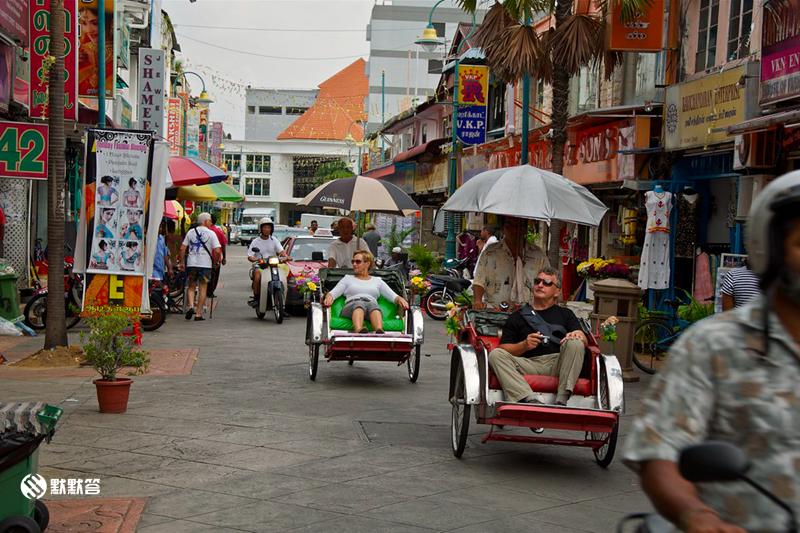 三轮车游槟城,三轮车游槟城,Penang Rickshaw