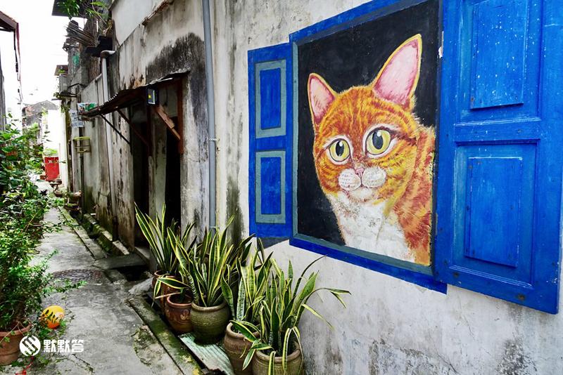 槟城乔治城壁画,槟城乔治城壁画,Penang Street art