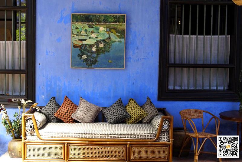 张弼士故居 - 蓝屋,张弼士故居 - 蓝屋,Cheong Fatt Tze - The Blue Mansion