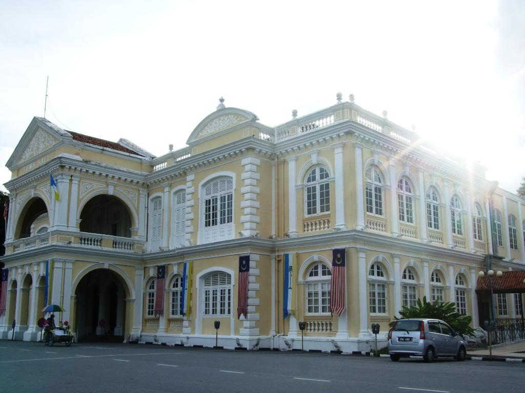 槟城大会堂与市政厅,槟城大会堂与市政厅,City Hall and Town Hall