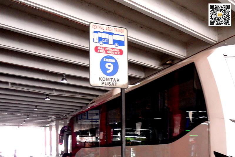 槟城免费观光大巴CAT,槟城免费观光大巴CAT,Penang hop on free central area transit