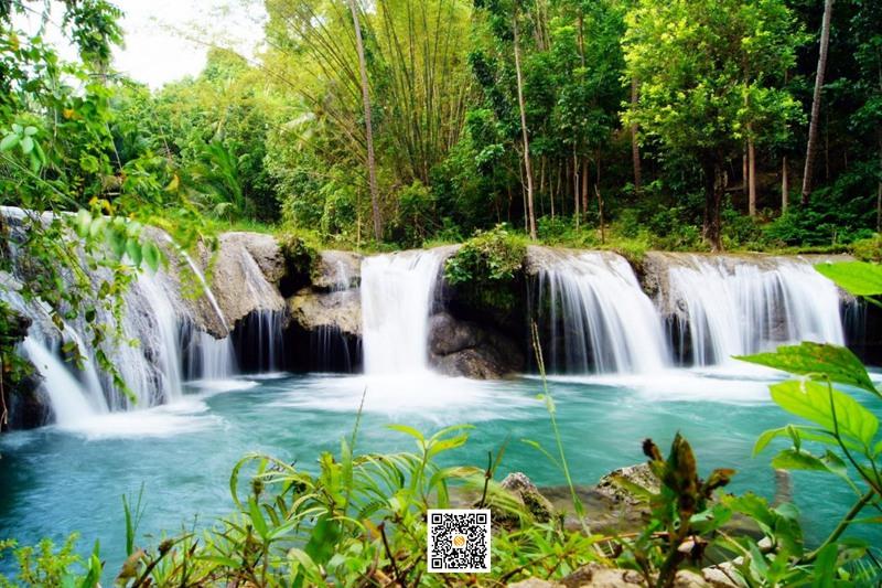 卡布加瀑布,卡布加瀑布,Cambugahay Falls