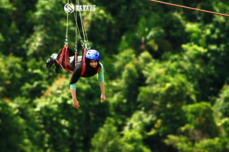 薄荷岛空中飞人,薄荷岛空中飞人,Loboc Eco-Tourism Adventure Park