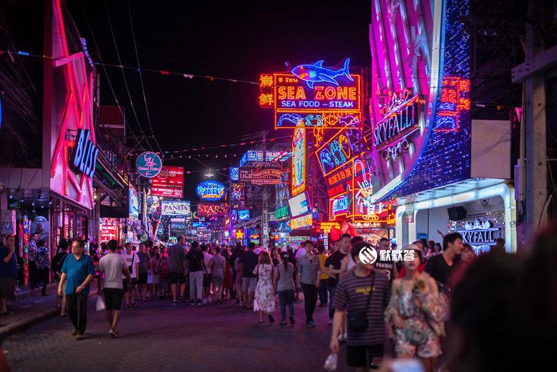 芭提雅红灯区,芭提雅红灯区,Pattaya Walking Street