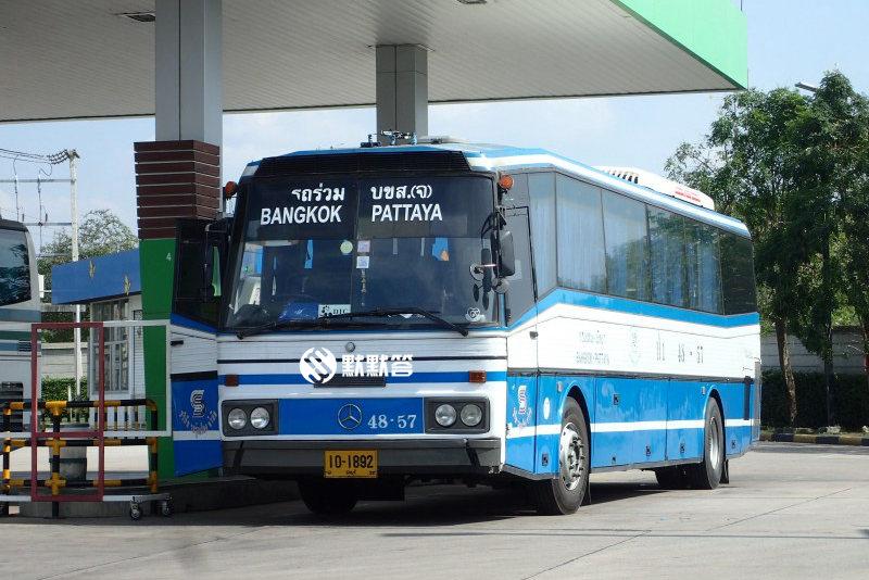 曼谷市区去芭提雅,曼谷市区往返芭提雅的交通攻略,Bus from Pattaya to Bangkok