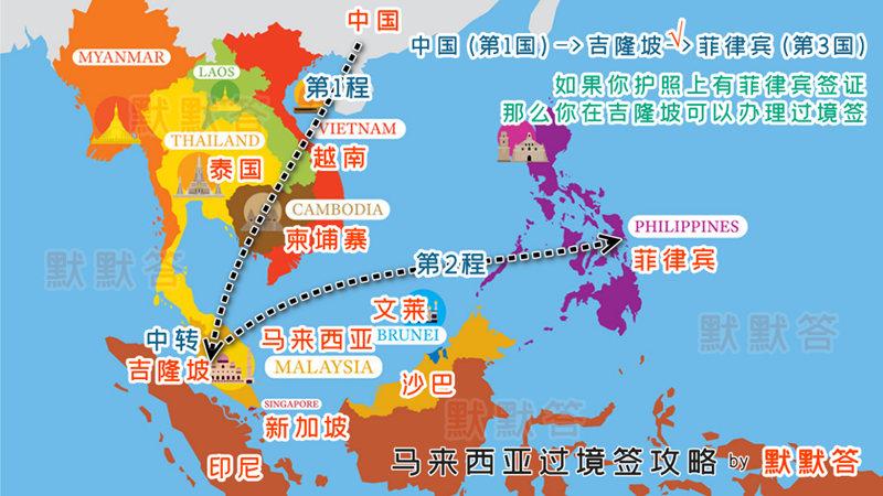 马来西亚过境签,马来西亚过境签,Malaysia Transit Pass