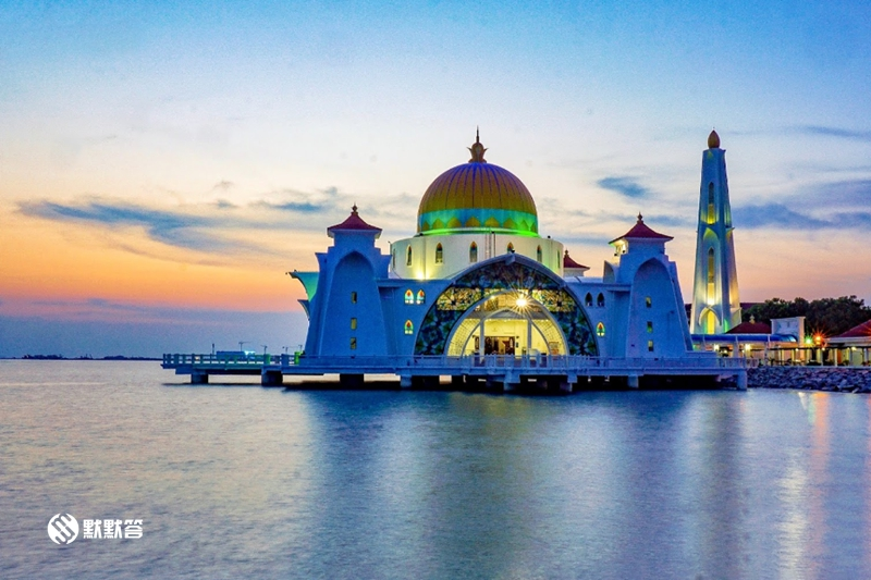 马六甲水上清真寺,马六甲水上清真寺,Masjid Selat Melaka