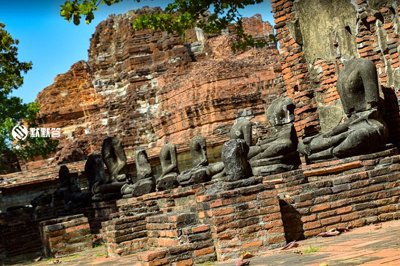 大城府遗迹/大城景点地图,大城府遗迹/大城景点地图,Ayutthaya