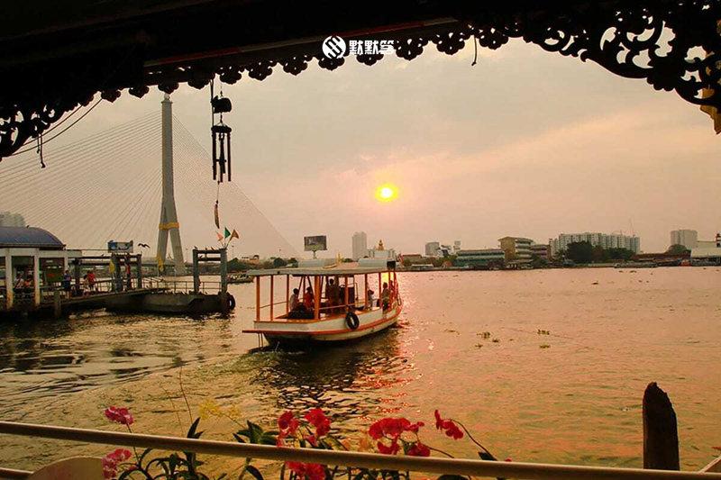 湄南河公交船,湄南河公交船,Chao Phraya Express Boat