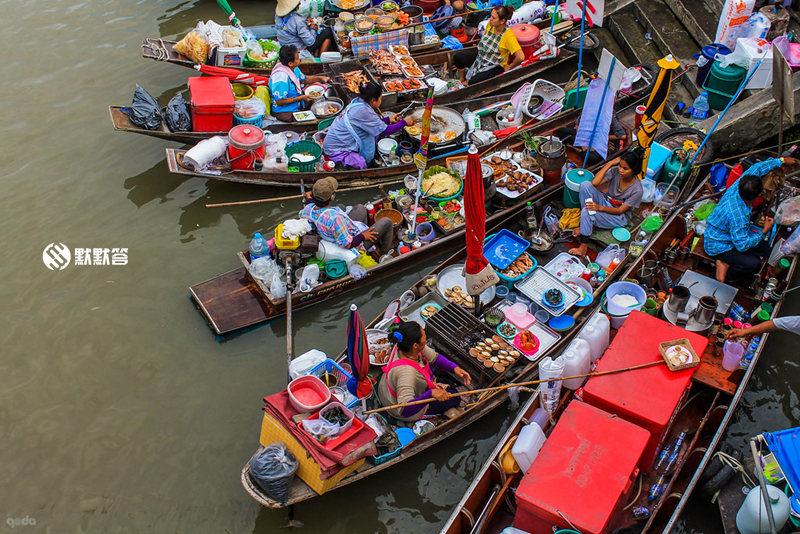 安帕瓦水上市场,安帕瓦水上市场,Amphawa Floating Market