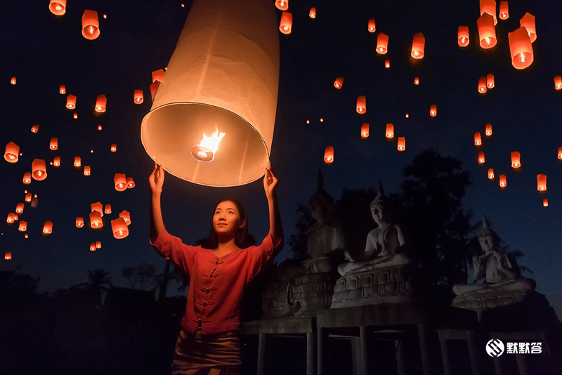 2020年清迈水灯节/万人天灯,2020年清迈水灯节/万人天灯,Chiang Mai Loy Krathong