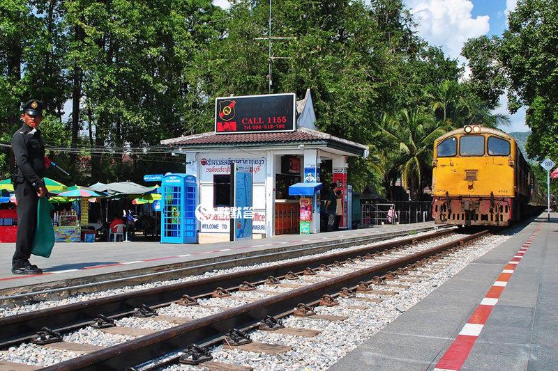 芭提雅火车站,坐火车去芭提雅,Pattaya Railway Station