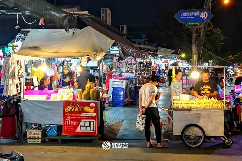 辉煌夜市,辉煌夜市,Huai Khwang Night Market