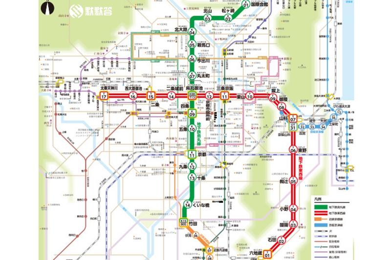 京都地铁,京都地铁,kyoto subway station